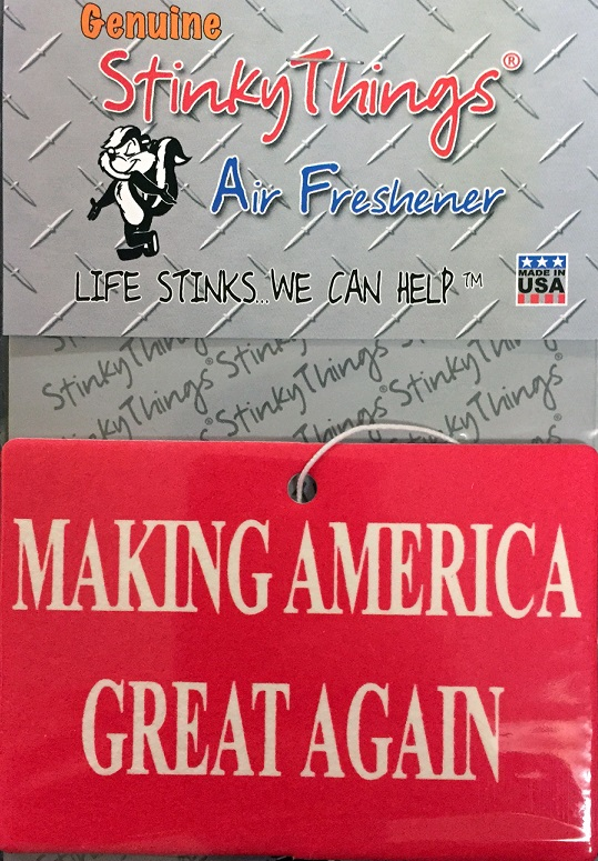 Making America Great Again Air Freshener