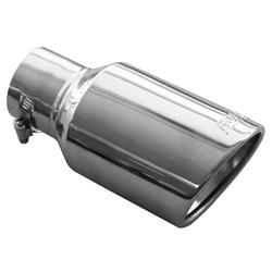 Borla ProXS 2.5 in. Polished Exhaust Tip 6.0 in. Long