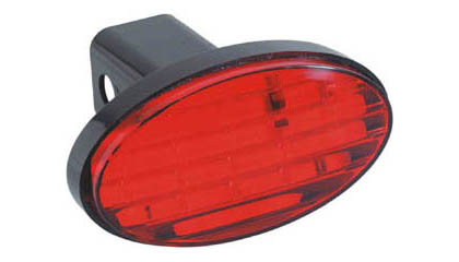 Bully LED Oval Hitch Cover with Brake Light