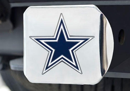 FanMats NFL Team Color Filled Hitch Cover