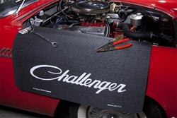 Challenger Logo Vehicle Fender Protective Cover