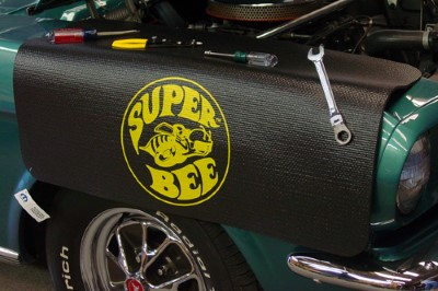 Super Bee Logo Fender Protective Cover