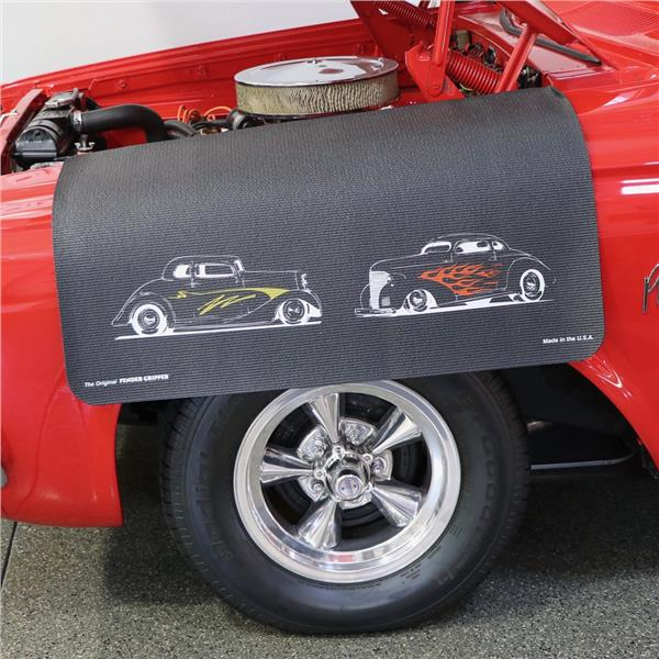 Hot Rods Version 1 Vehicle Fender Protective Cover