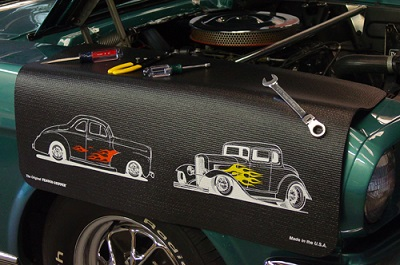 Hot Rods Version 2 Vehicle Fender Protective Cover