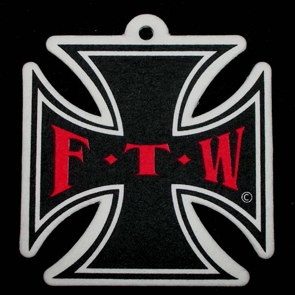 FTW Maltese Cross Air Freshener