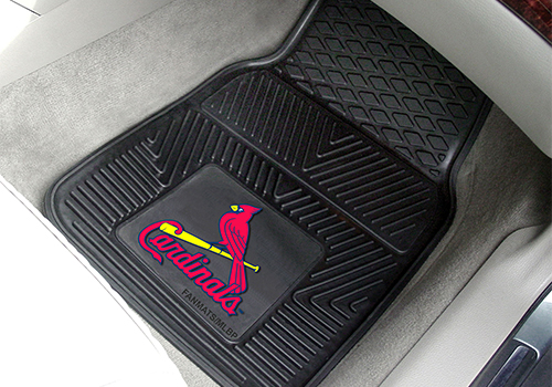 FanMats MLB Team Color 2 pc Front Floor Mats