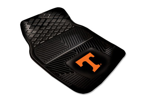 FanMats NCAA Team Color 2 pc Front Floor Mats