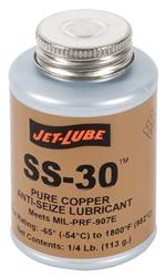 Jet-Lube SS-30 Pure Copper Anti-Seize Lubricant
