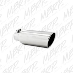 MBRP 2.5 in. Polished Exhaust Tip 12.0 in. Long