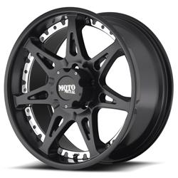 "MO961 Matte Black-Machined Wheel 20""x9"" 94-18 Dodge Ram 1500"