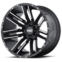 "MO978 Satin Black-Machined Wheel 20""x9"" 94-18 Dodge Ram 1500"