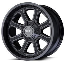 "MO984 Matte Gray-Gloss Black Wheel 20""x9"" 94-18 Dodge Ram 1500"
