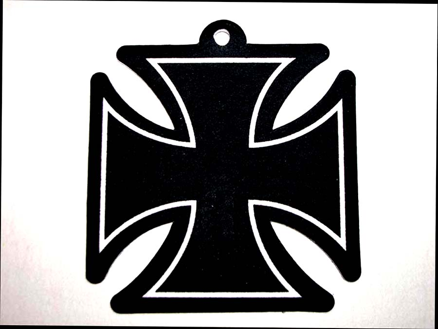 Maltese Cross Air Freshener