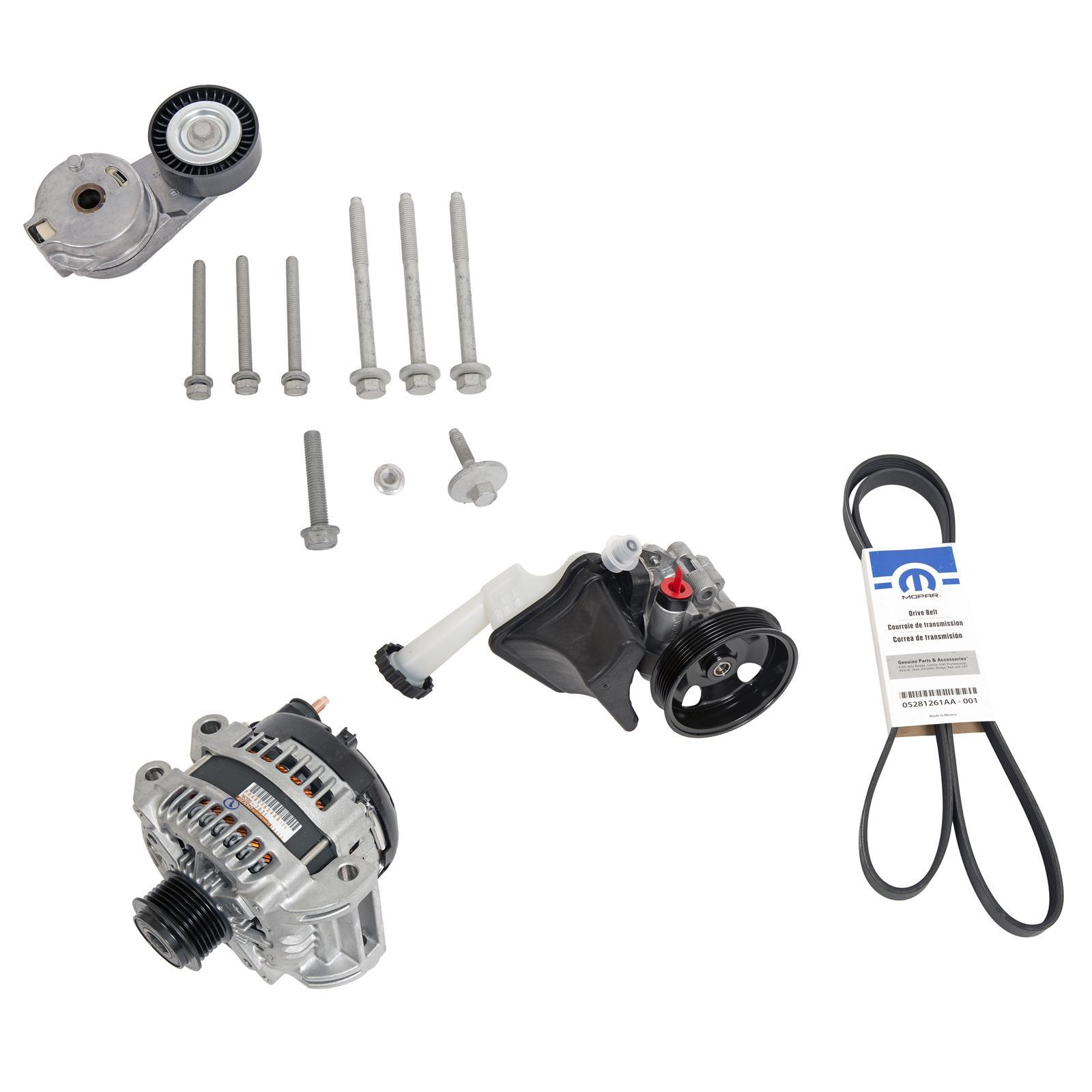 Mopar Hellephant FEAD Basics Kit Mopar Hellephant Engine