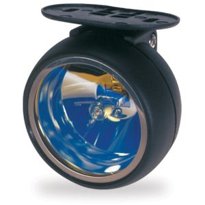 "Pilot Universal 3-1/8"" Blue Lens Round Driving Light Kit"