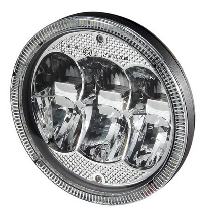"Pilot Universal 7"" LED Round Driving Light Off-Road Kit"