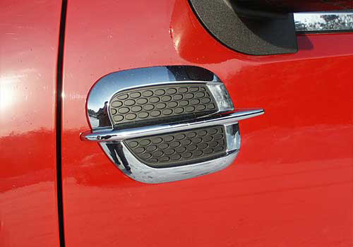 QAA Universal Chrome Fender Vents