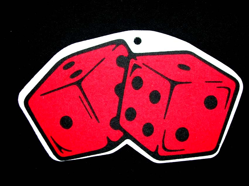 Red Dice Air Freshener