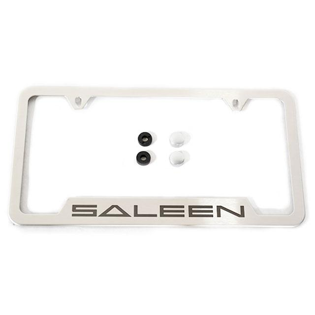 """Saleen"" Stainless License Plate Frame Dodge Challeger 570"