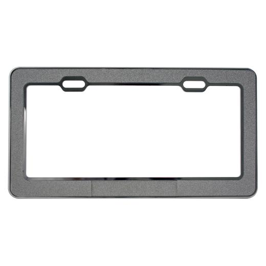 Pilot Powder Metallic-Chrome License Frame