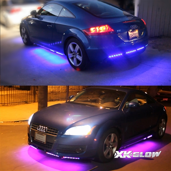 Second Generation 8pc UFO 3 Million Color Undercar Light Kit