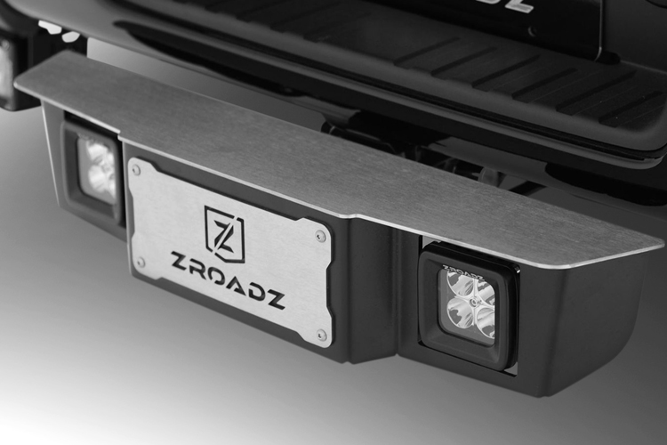 "ZROADZ 2"" Hitch Step With 3"" LED Pod Lights"