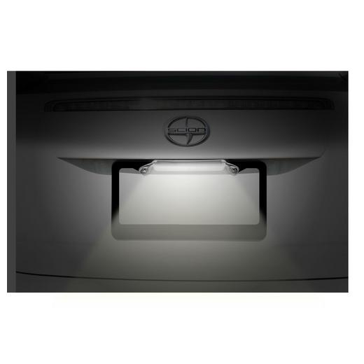 Pilot White LED License Plate Frame Light