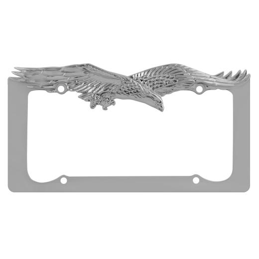 Pilot Chrome Eagle License Plate Frame