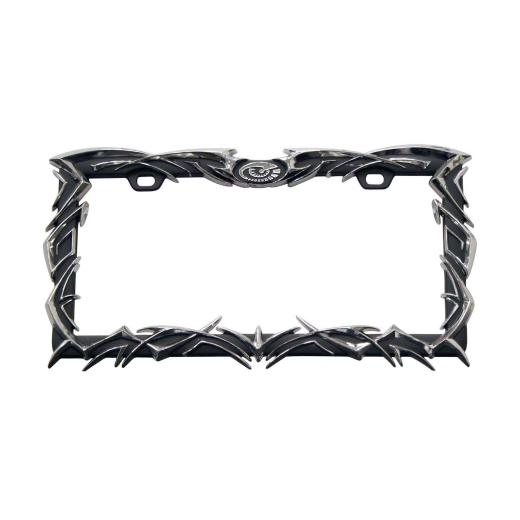 Pilot Tribal Flame License Plate Frame