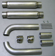Belanger Side Exhaust System without Cats 92-02 Viper RT-10
