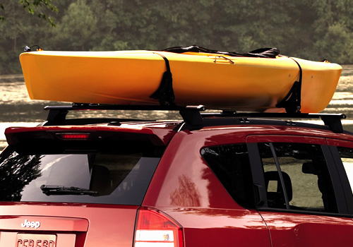 Mopar OEM Roof Mount Thule Watersports Rack Carrier