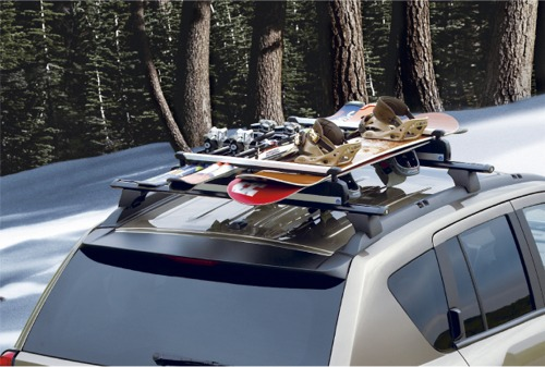 Mopar OEM Thule Roof-Mount Ski Carrier
