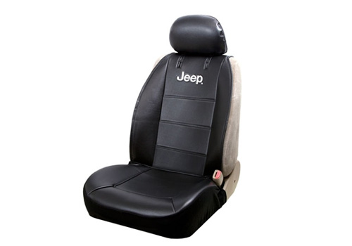 Sideless Vinyl Seat Cover with Jeep Logo