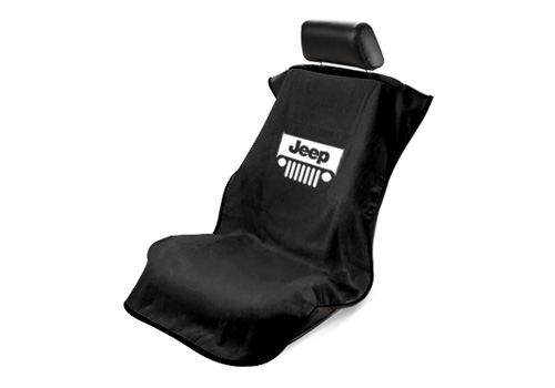 Seat Armour Slip On Seat Cover with Jeep Grille Logo