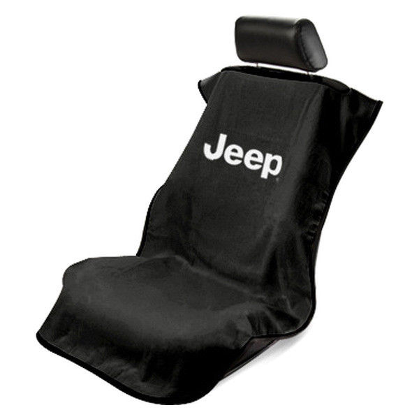 Seat Armour Slip On Seat Cover with Jeep Logo