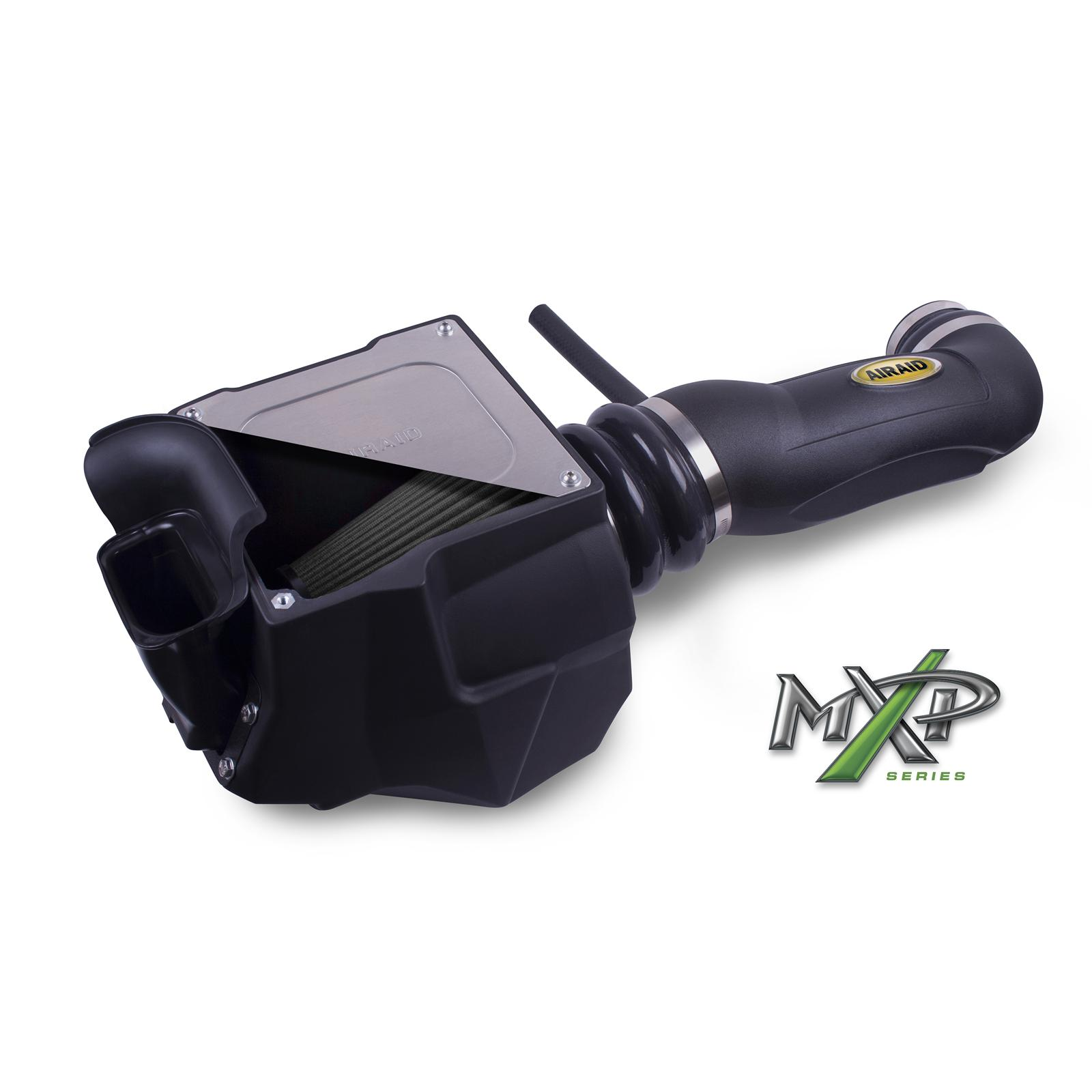 AirAid SynthaMax MXP Blue Filter Air Intake Kit 12-up Wrangler