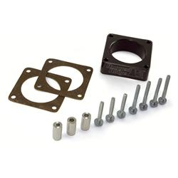 Rugged Ridge Black Throttle Body Spacer 91-06 Jeep 2.5,4.0,4.2L
