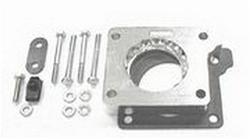 Taylor Polished Throttle Body Spacer 91-06 Jeep 2.5,4.0,4.2L