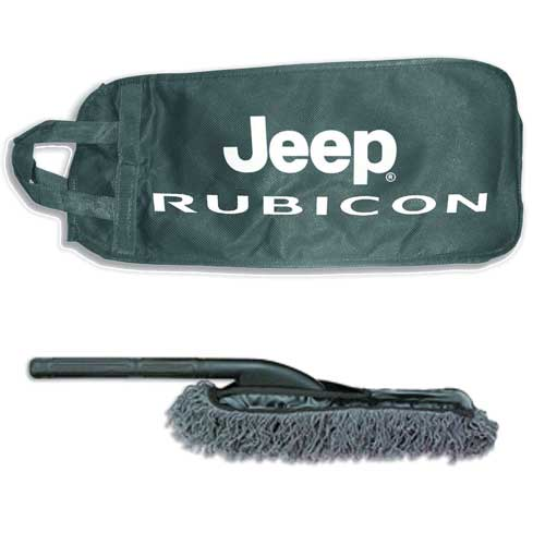 Jeep Rubicon Logo Bag with Duster